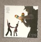 Stamps United Kingdom -  Musicos