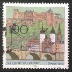 Sellos de Europa - Alemania -  800 años Heidelberg