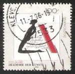 Stamps Germany -  300 jahre akademie der künste -Academia de las Artes de Berlín