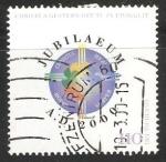 Stamps Germany -  Jubilaeum a.d. 2000 -  EL LOGO DEL GRAN JUBILEO DEL AÑO 2000