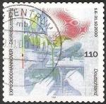 Sellos de Europa - Alemania -  expo 2000 hannover die weltausstellung  - Expo 2000