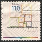 Stamps Germany -  Internationale mathemaiker kongreb  1998 berlin -Congreso Internacional de Matemáticas