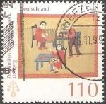 Sellos de Europa - Alemania -  dominikus rutgelsen werk ursberg