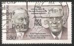 Stamps Germany -  XXV ANIVERSARIO DEL TRATADO DE LA cooperación franco-alemana