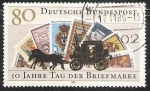 Stamps Germany -  50 jahre tag der briefmarke - Dia del sello
