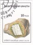 Stamps Azerbaijan -  MINERALES-CALCITA