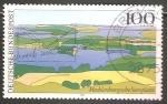 Stamps Germany -  Los Lagos de Mecklenburg