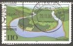 Sellos de Europa - Alemania -  Saarschleife - Meandro del Sarre
