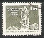 Stamps Germany -  Monumento de Guerra Soviético