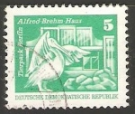 Stamps Germany -  Tierpark Berlin - parqe zoologico