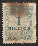 Sellos de Europa - Alemania -  1 million