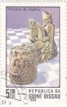 Stamps Guinea Bissau -  HISTORIA DEL AJEDREZ