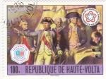 Stamps Burkina Faso -  BICENTENARIO DE LA REVOLUCIÓN AMERICANA