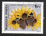 Sellos de Europa - Hungría -   Insectos polinizadores Flores