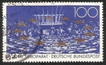 Stamps Germany -  40 jahre europa deutsche bundespost