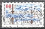 Sellos de Europa - Alemania -  Centenario del nacimiento de Johan Kinau (