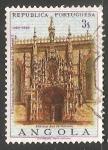 Sellos del Mundo : Africa : Angola : Portal of St. Jeronimo Monastry