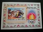 Stamps Africa - Burkina Faso -  Montreal 76