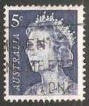 Sellos de Oceania - Australia -  Reina Isabel II