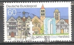 Sellos de Europa - Alemania -  1250 Años Bad Hersfeld.