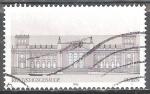 Sellos de Europa - Alemania -  edificios importantes de la historia de la RFA,(Museo Koenig en Bonn).