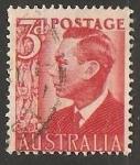 Sellos de Oceania - Australia -  King George VI