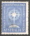 Sellos de Oceania - Australia -  Navidad 1963