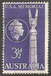 Stamps Australia -  U.S.A. Memorial