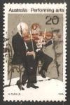 Stamps Australia -  Performing arts