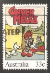 Sellos de Oceania - Australia -  Ginger meggi - comic strip