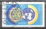 Sellos de Europa - Alemania -  Convención Internacional Rotaria, Munich.