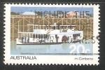 Sellos de Oceania - Australia -   Barcaza