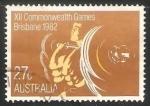 Sellos de Oceania - Australia -  XII Juegos de la Commonwealth de Brisbane 1982