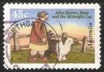 Sellos de Oceania - Australia -  John Brown, Rose y el gato de la medianoche