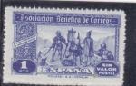 Sellos de Europa - España -  ASOCIACION BENEFICA DE CORREOS(24)