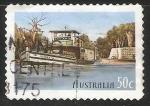 Sellos de Oceania - Australia -  Barco
