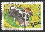 Sellos de Oceania - Australia -  Vaca