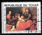 Sellos de Africa - Chad -  Chad-cambio