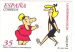 Sellos de Europa - España -  HERMANAS GILDA-comics (24)