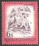 Stamps Austria -  Undauer Hutte Ratikon