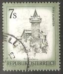 Sellos de Europa - Austria -  Castillo de Falkenstein