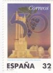 Sellos de Europa - España -  MONUMENTO UNIVERSAL A LA VENDIMIA (REQUENA) (24)