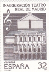 Stamps Spain -  INAUGURACIÓN TEATRO REAL DE MADRID (24)