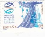 Stamps Spain -  EXPOSICIÓN MUNDIAL DE LA PESCA-VIGO 97 (24)