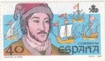 Stamps Spain -  JUAN DE LA COSA-navegante (24)