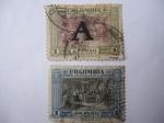 Sellos de America - Colombia -  Serie del sesquicentenario de la Independencia 1810-1960 - Proclamación