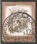 Sellos de Europa - Austria -  Festung Kufstein - Fortaleza de Kufstein