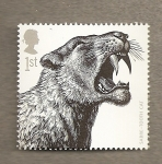 Stamps Europe - United Kingdom -  Animales prehistoricos