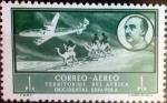 Stamps Spain -  Intercambio jxi 0,30 usd 1 pta. 1951