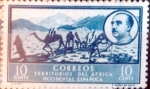 Stamps Spain -  Intercambio fd2a 0,20 usd 10 cents. 1950